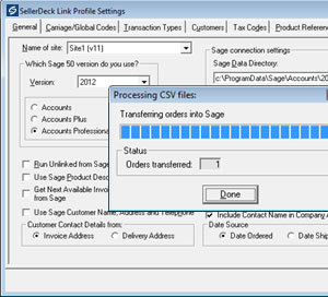Integrating eBay, PayPal, Sage 50 Accounts and other systems